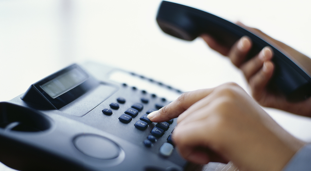Hand Dialing Phone