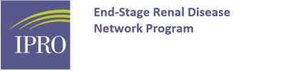 IPRO ESRD Network